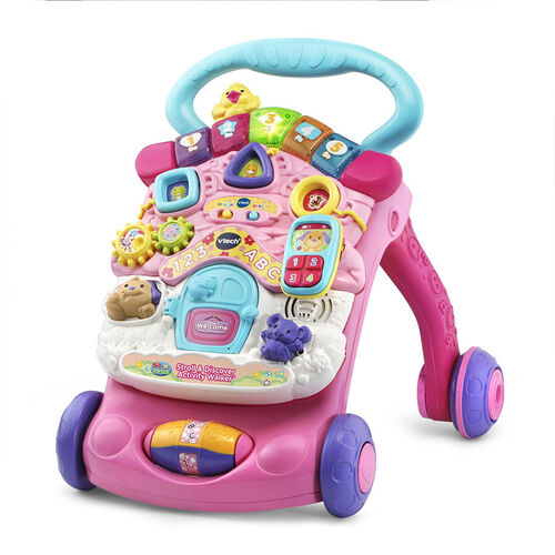 Vtech 2-in-1 Sit-To-Stand Activity Walker - Pink