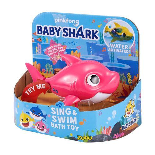 Baby Shark系列 - 發聲沐浴玩具 - 隨機發貨