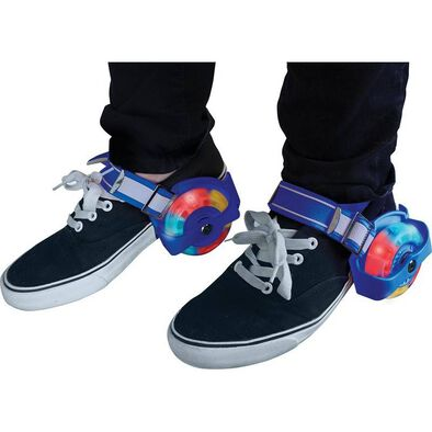 Hy Pro Zinc 閃燈滑步輪鞋 (藍色)
