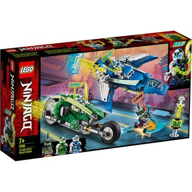 LEGO樂高幻影忍者系列 阿光和埃德之速度賽車 71709