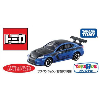 Takara Tomy多美 玩具反斗城限量版 Lexus Is F Ccs R 藍色