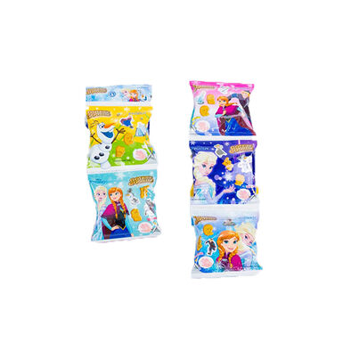 Disney Frozen迪士尼魔雪奇緣 五包卡通造型餅乾(草莓味)
