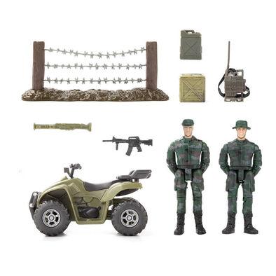 World Peacekeepers正義紅師 1:18 系列 二人巡邏車小隊 - 隨機發貨