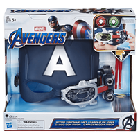 Marvel Avengers漫威復仇者聯盟 美國隊長頭盔連飛彈發射