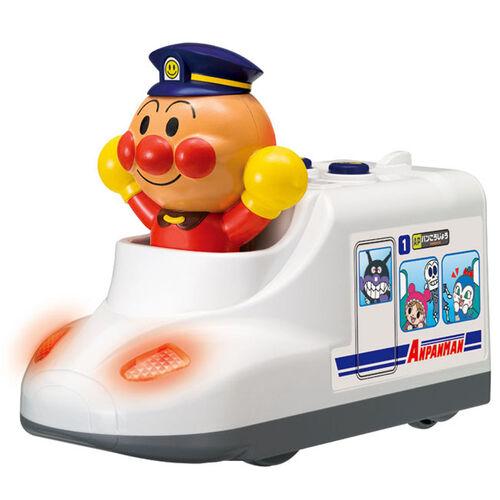 Anpanman麵包超人發聲玩具車-小火車