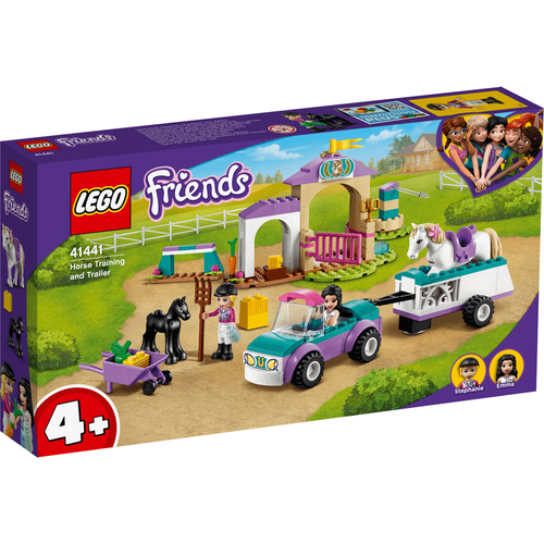 LEGO樂高好朋友系列 馬術訓練和運馬拖車 41441