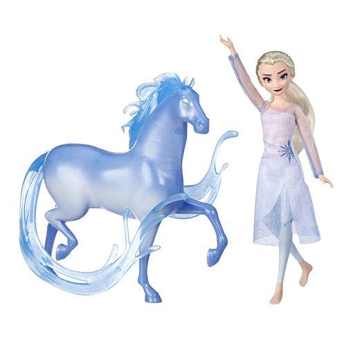 Disney Frozen迪士尼魔雪奇緣 2 愛莎時裝玩偶和諾克