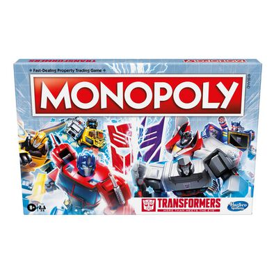 Monopoly大富翁 變形金剛版桌上遊戲