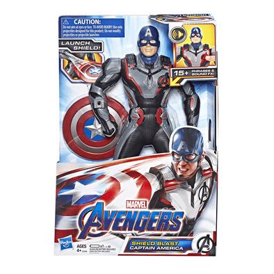Marvel Avengers漫威復仇者聯盟美國隊長電子人偶
