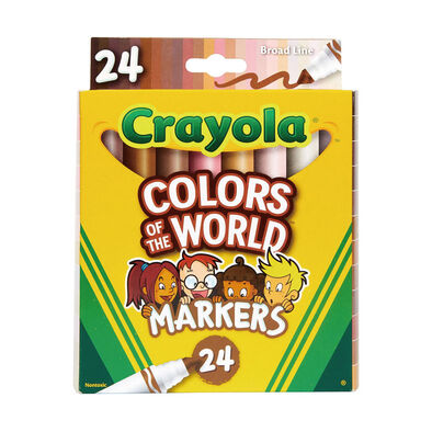 Crayola Colors Of The World 24 Color Markers