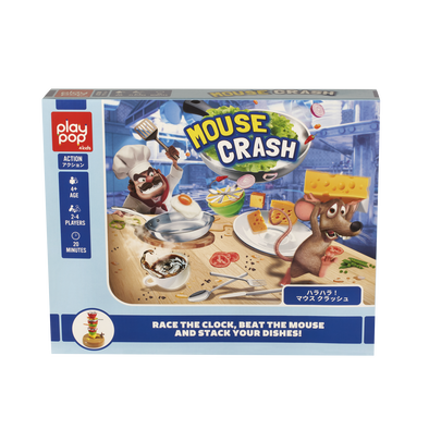 Play Pop Mouse Crash Action Game