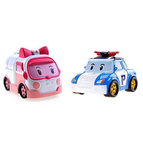 Robocar Poli救援小英雄波力合金車 隨機發貨