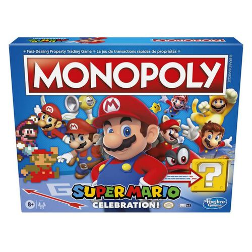 Monopoly Super Mario Celebration Edition Board Game Toys R Us Hong Kong Official Website 香港玩具 反 斗城官方網站