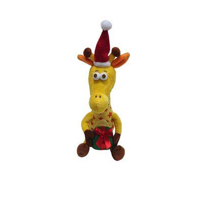 """玩具""""反""""斗城 Geoffrey傑菲 13"""" 聖誕長頸鹿"""