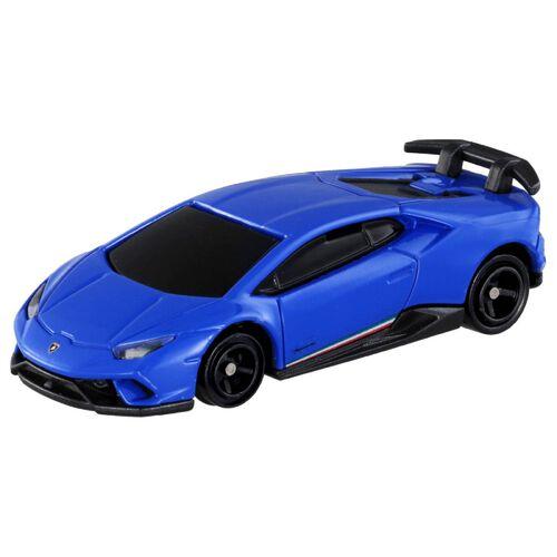 Tomica多美 車仔4D發聲震動藍寶堅尼藍色車仔