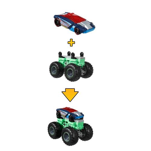 Hot Wheels風火輪 大腳車轉換組(附合金車)