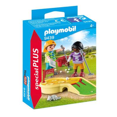 Playmobil摩比世界高爾夫球小孩