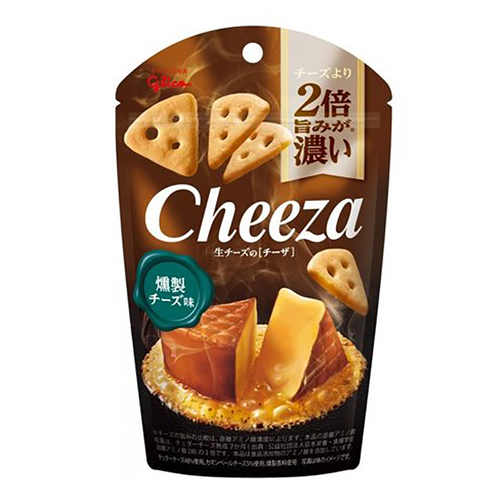 Glico Cheeza 煙燻芝士脆片