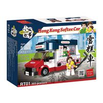 City Story 小城故事 拼裝積木:香港雪糕車