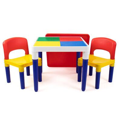 Universe Of Imagination知識小宇宙 2合1積木桌椅組