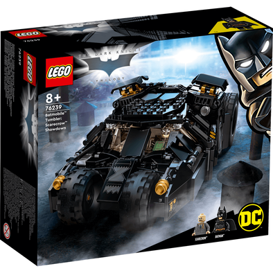 LEGO樂高DC超級英雄系列 Batmobile Tumbler: Scarecrow Showdown 76239