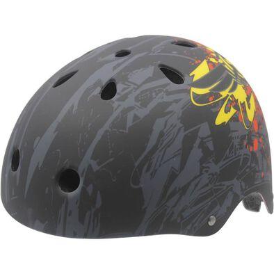 Kidzamokz 頭盔,小碼,黑色圖案
