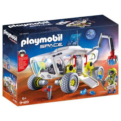 Playmobil摩比世界太空系列火星探測車