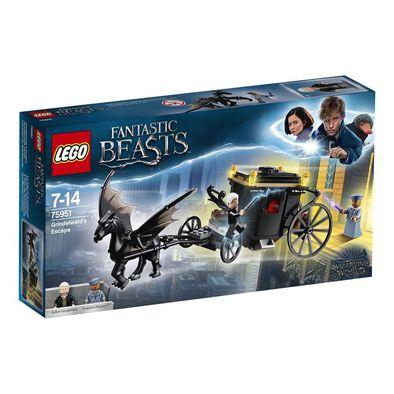 LEGO樂高怪獸與它們的產地系列 LEGO Grindelwald´S Escape 75951
