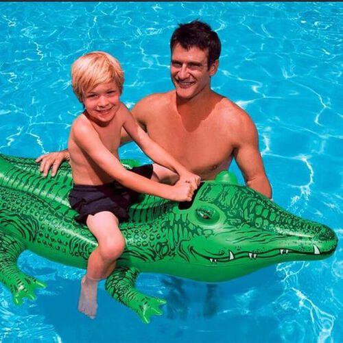 Intex 充氣鱷魚浮座系列