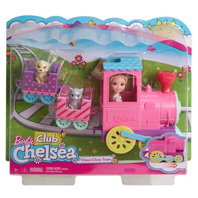 Barbie Club Chelsea Doll & Choo Choo Train Playset