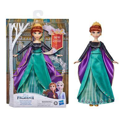 Disney Frozen迪士尼魔雪奇緣 音樂冒險安娜玩偶