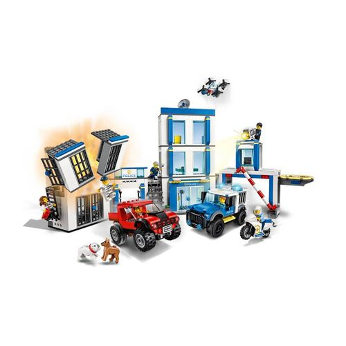 LEGO樂高城市系列 警察局 60246