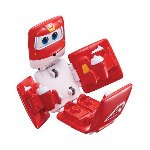 Super Wings超級飛俠 迷你方形可變形超級飛俠 - Jett