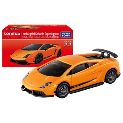 Tomica多美 車仔 藍寶堅尼 Gallardo Superleggera 33 橙色