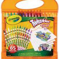 Crayola繪兒樂扭扭顏色筆套裝