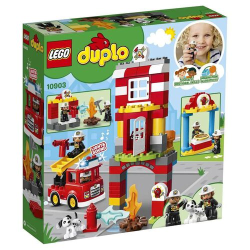 LEGO樂高得寶系列 消防局 10903