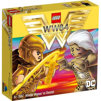LEGO LEGO Dc Wonder Woman Vs Cheetah 76157