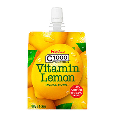 House Foods Perfect Vitamin一日維他命 C1000 檸檬啫喱 180G