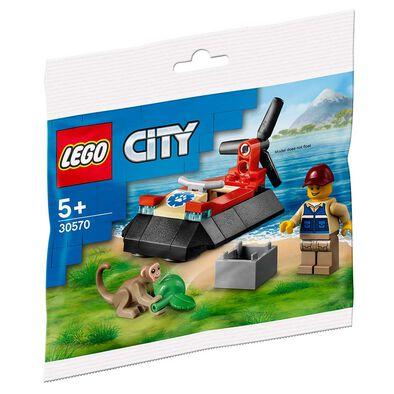 LEGO City 野生動物救援氣墊船 30570