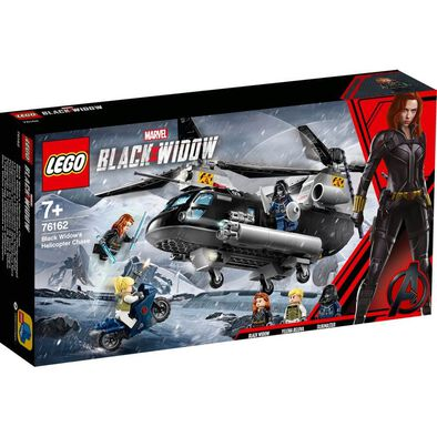 LEGO樂高漫威系列black Widow's Helicopter Chase 76162