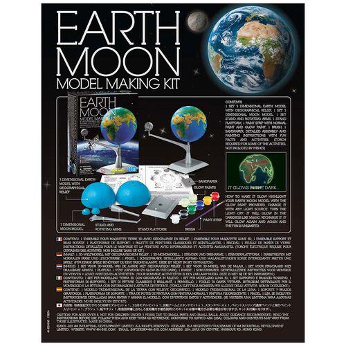 4M創意科學系列 地球-月亮模型製作套裝