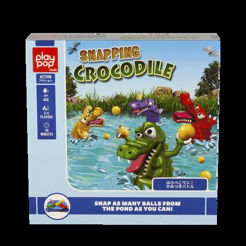 Play Pop 搶食小鱷魚動作遊戲
