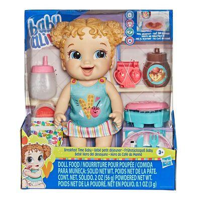 Baby Alive Breakfast Time Baby, Blonde Hair