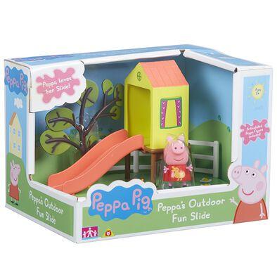 Peppa Pig Peppa Outdoor Fun Playset Swing / Slide