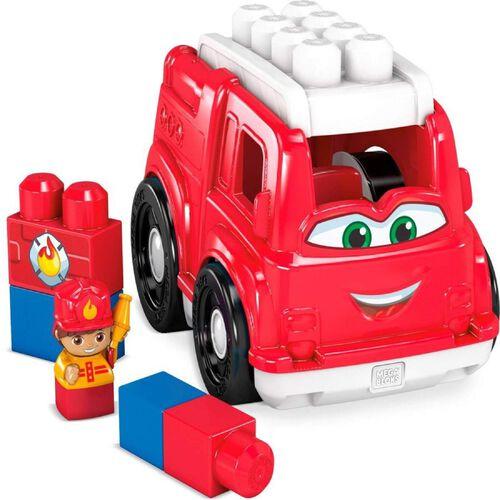 Mega Bloks美高積木first Builders系列消防車積木