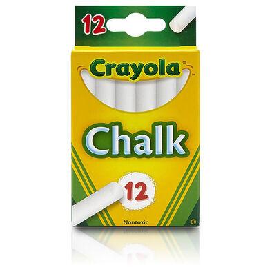 Crayola繪兒樂白色粉筆12支裝