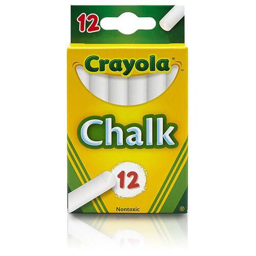 Crayola繪兒樂 白色粉筆12支裝