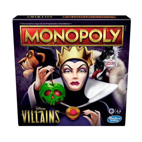 Monopoly大富翁 迪士尼反派版