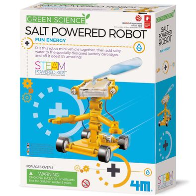 4M Green Science Salt-Powered Robot