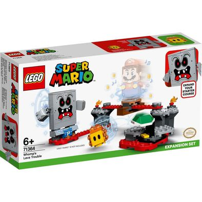 LEGO Super Mario Whomp'S Lava Trouble 擴充版圖 71364